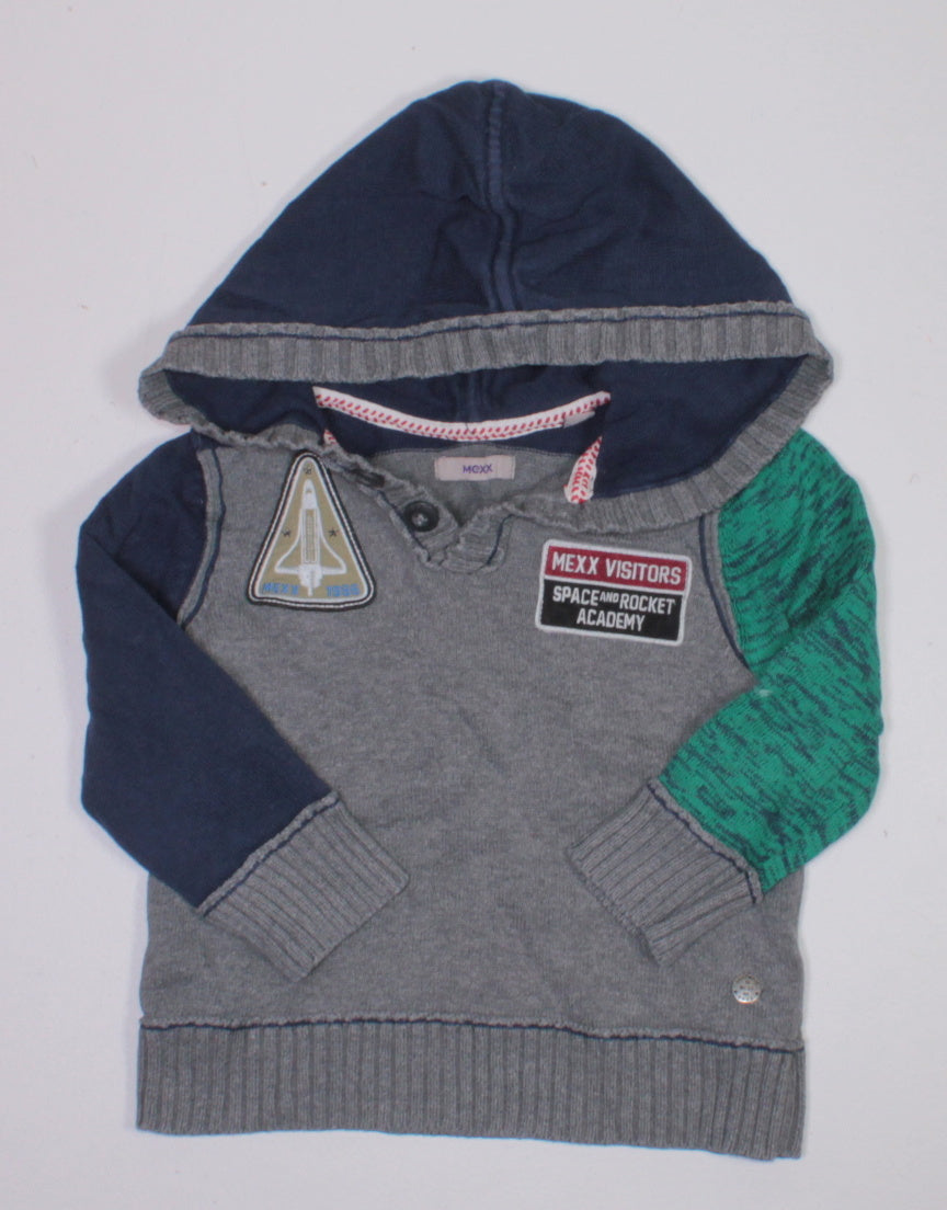 MEXX HOODED SWEATER 3-4YR EUC