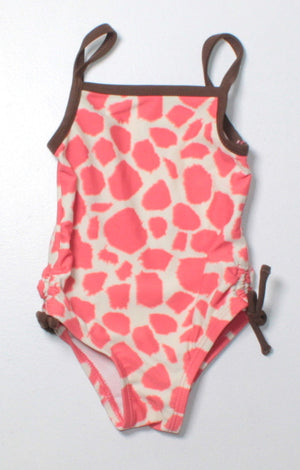 JOE FRESH ANIMAL PRINT SWIMSUIT 3-6M EUC