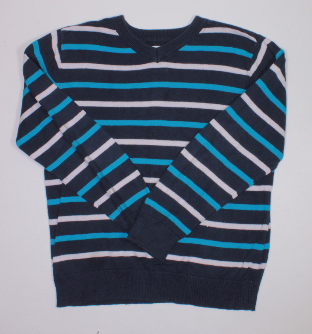 TCP STRIPED SWEATER 7-8YR EEUC