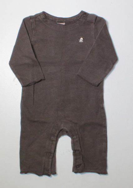 OLD NAVY BROWN OUTFIT 3-6M EUC