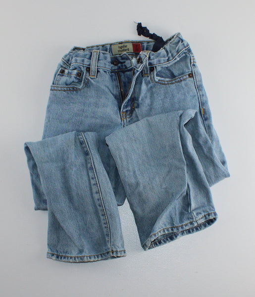 OLD NAVY SLIM JEANS 7Y VGUC