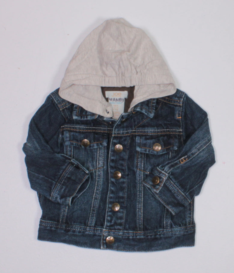JOE FRESH DENIM JACKET 3-6M EUC