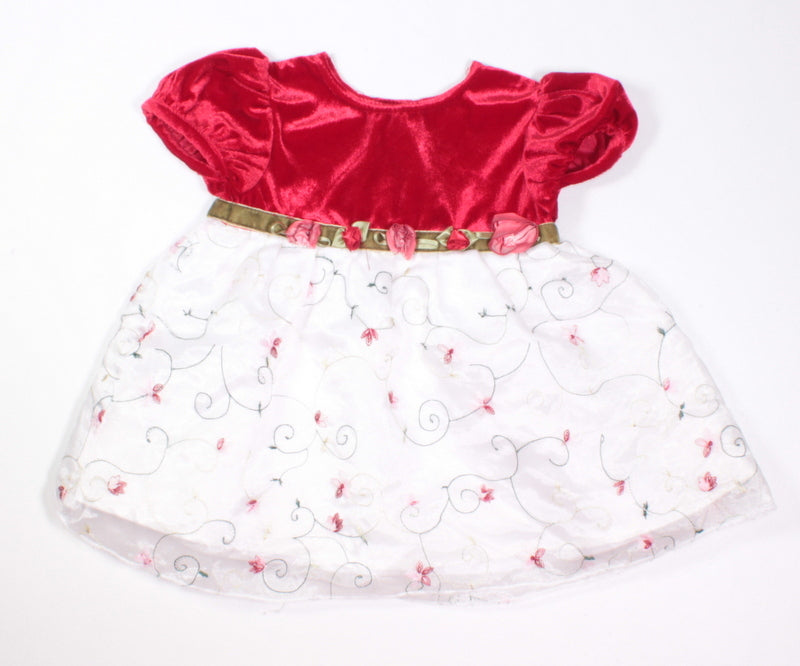 GEORGE HOLIDAY DRESS 6M VGUC