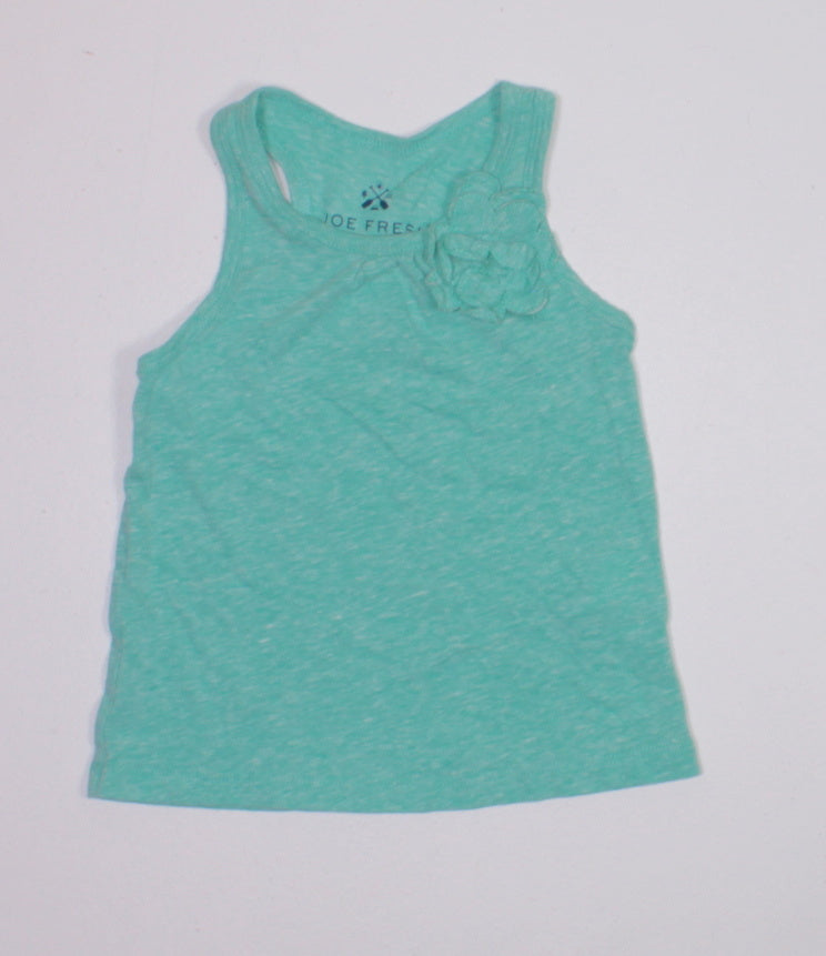 JOE FRESH GREEN TANK 1YR EUC