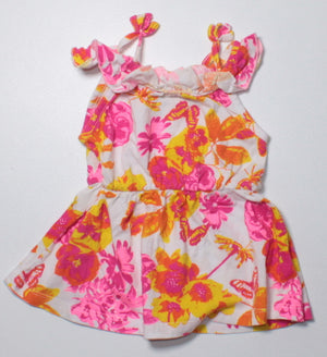 GEORGE FLORAL DRESS 3-6M EUC