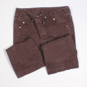 JOE FRESH BROWN PANTS 3Y VGUC