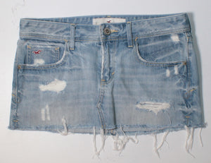 HOLLISTER DENIM SKIRT 26 VGUC/EUC