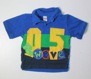 LITTLE TIKES BLUE TEE 12-18M VGUC/EUC