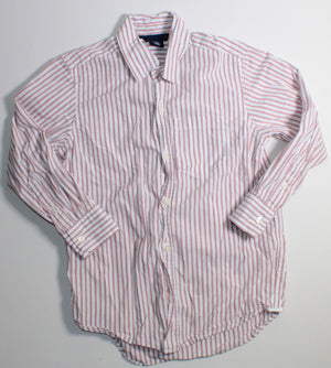 GAP ORANGE STRIPE SHIRT 6-7YR VGUC
