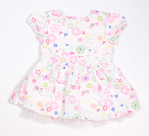 JOE FRESH FLORAL DRESS 3-6M EUC