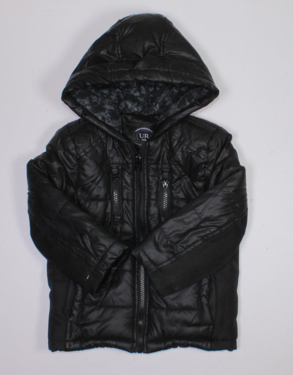 URBAN REPUBLIC BLACK WINTER COAT 3T EUC
