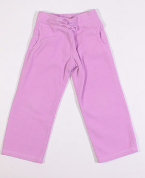 OLD NAVY 3Y PURPLE FLEECE PANTS VGUC