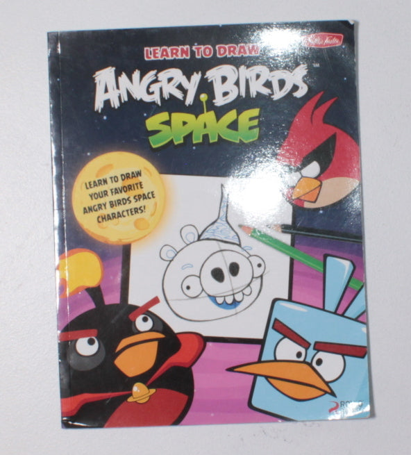 ANGRY BIRDS SPACE DRAWING BOOK VGUC/EUC