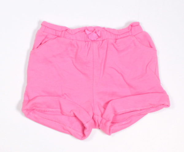 JOE FRESH PINK COTTON SHORTS 3-6M EUC