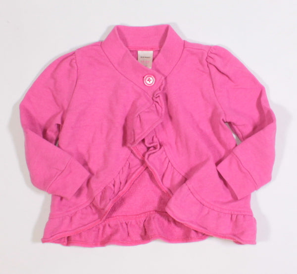 OLD NAVY PINK SWEATER 18-24M VGUC