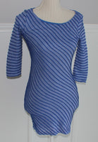 SOPRANO BLUE TOP LADIES XS EUC