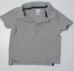 OLD NAVY GREY GOLF TOP 18-24M VGUC