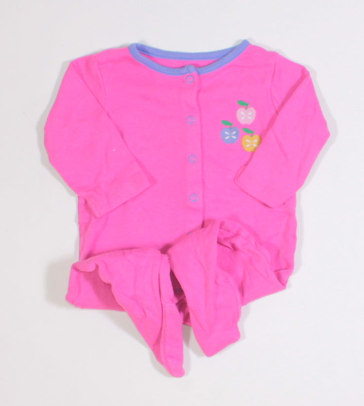 PINK APPLE COTTON PJS APPROX 6M GUC
