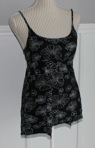 SENTIMENTS TANK TOP LADIES APPROX SMALL VGUC/EUC
