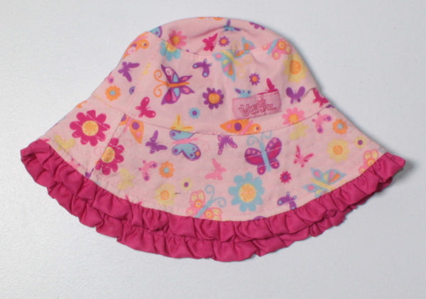 UV SKINS REVERSIBLE HAT 6-12M VGUC