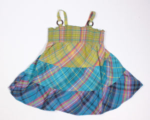 TCP PLAID DRESS 18M EUC