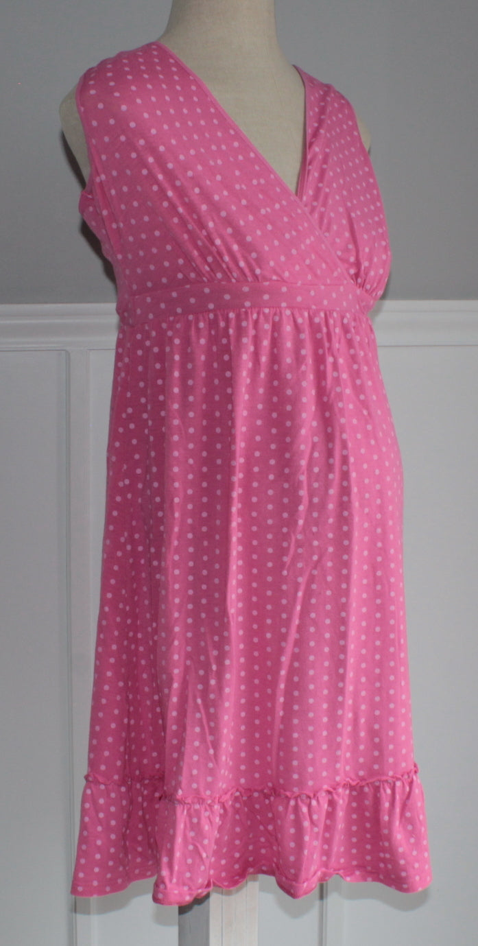a62beb574a52c Betty's Consignment · MOTHERHOOD MATERNITY NIGHTGOWN PINK SMALL VGUC