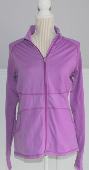 ATHLETIC WORKS PURPLE SWEATER LADIES LARGE VGUC
