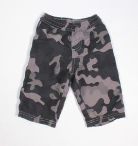 GEORGE JERSEY LINED CAMO ATHLETIC PANTS 3-6M EUC