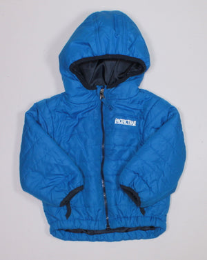 PACIFIC TRAIL BLUE LIGHT WEIGHT JACKET 18M VGUC