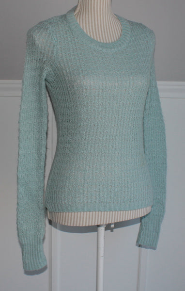 GEORGE BLUE SWEATER LADIES XS EUC
