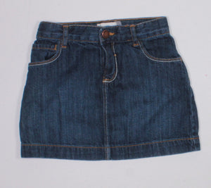 OLD NAVY DENIM SKIRT 4Y EUC