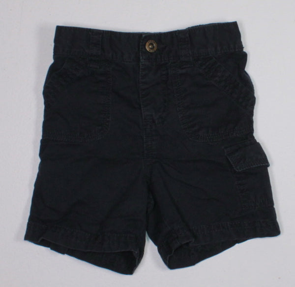 JOE FRESH NAVY SHORTS 6-12M EUC