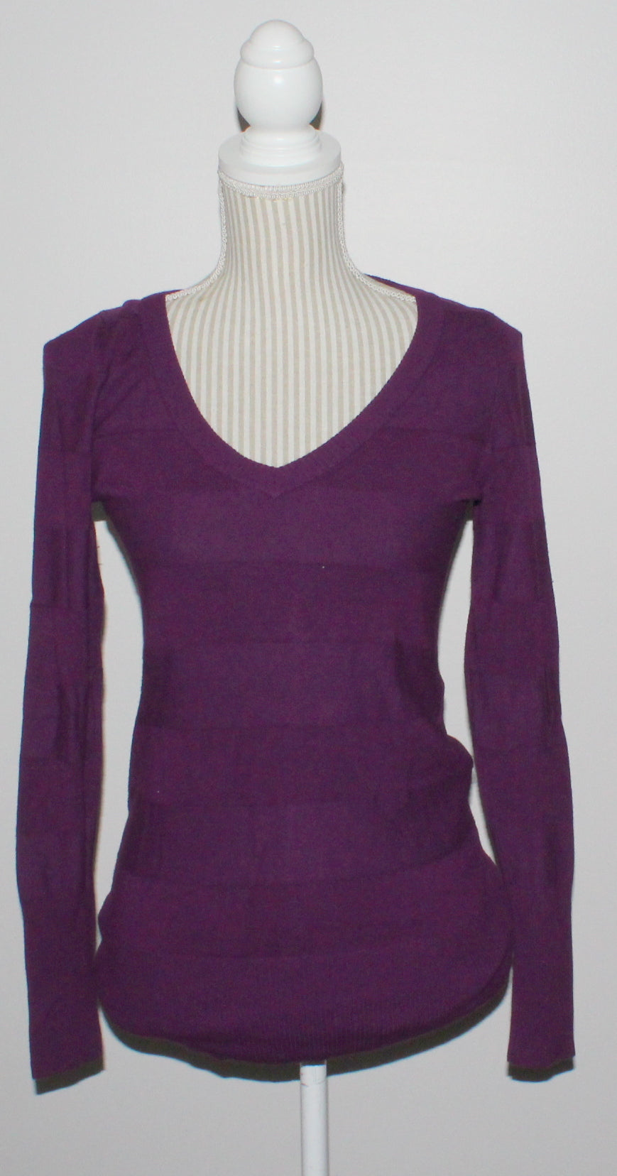 SMART SET PURPLE SWEATER LADIES SMALL EUC
