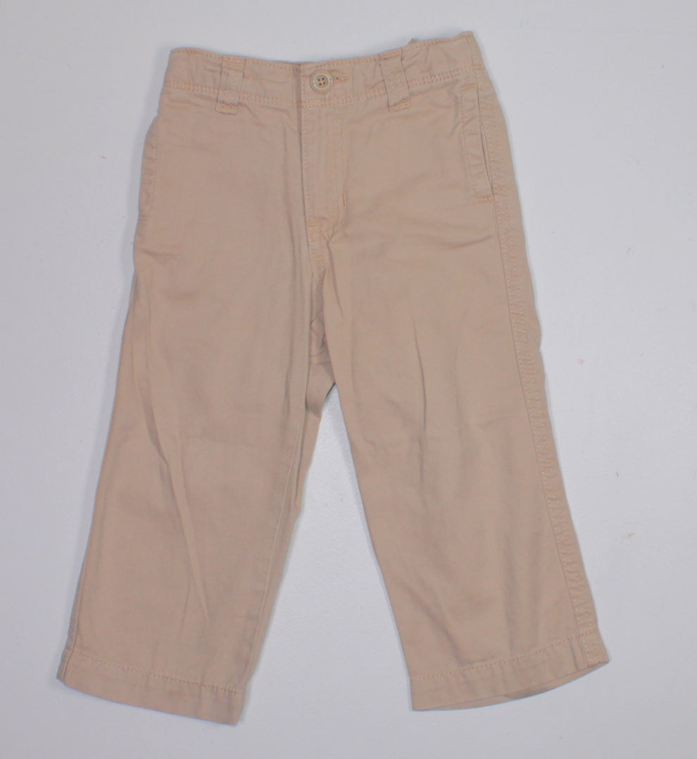 OLD NAVY TAN PANTS 2T VGUC/EUC