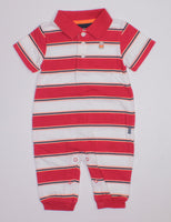 CARTERS RED ROMPER 6M EUC