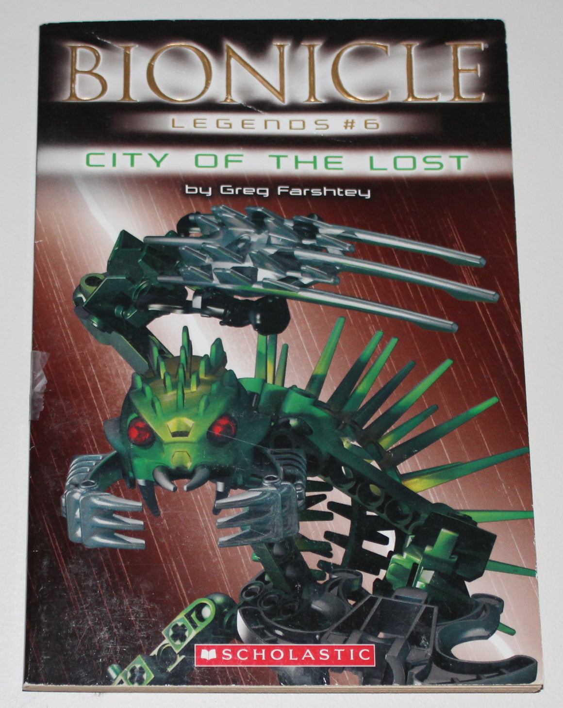 BIONICLE PAPERBACK BOOK