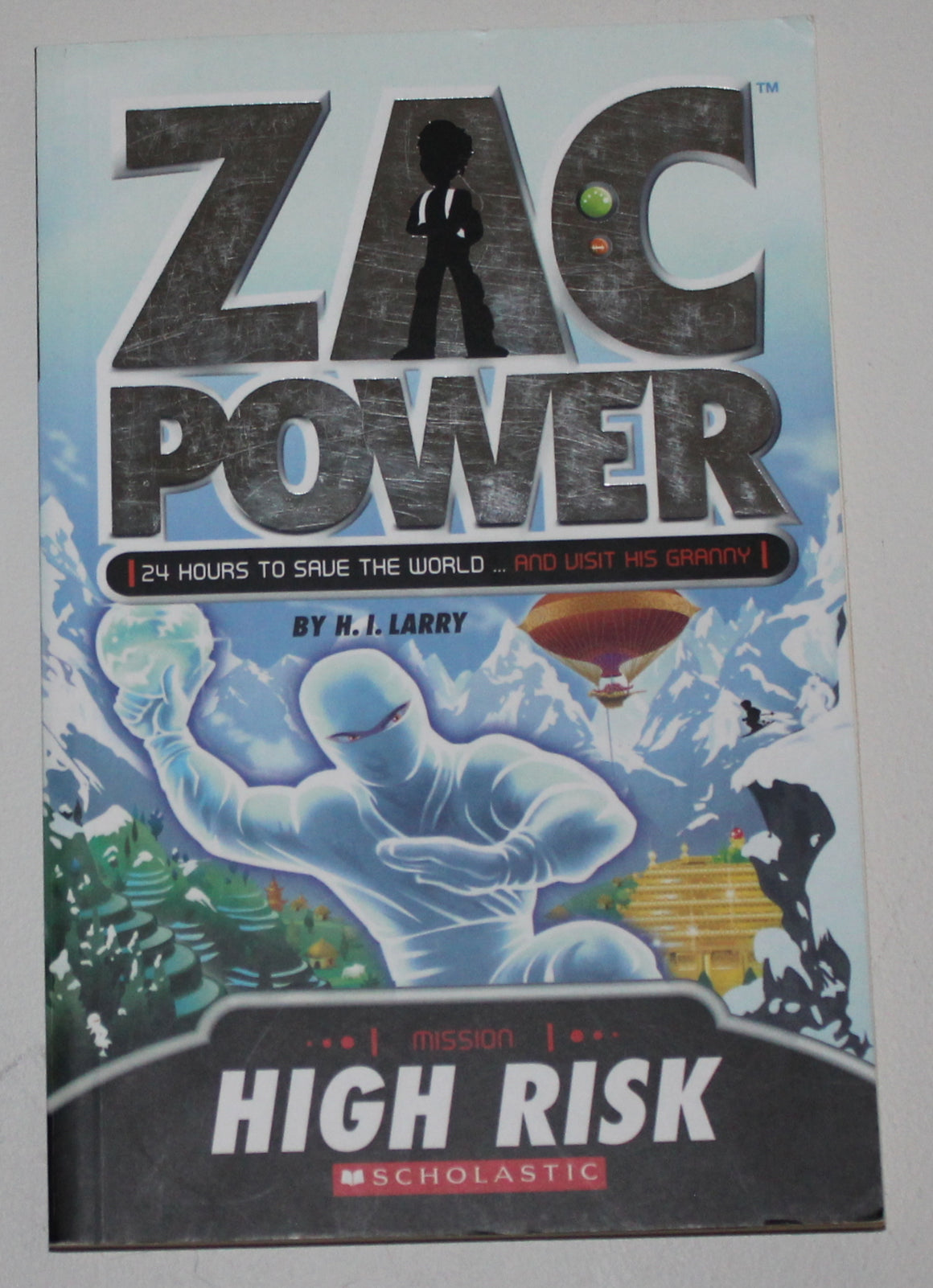 ZAC POWER MISSION HIGH RISK PAPERBACK