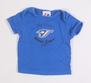 MY FIRST BLUE JAYS GAME TEE 24M EUC