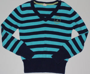 OLD NAVY STRIPED SWEATER 10-12YR EUC