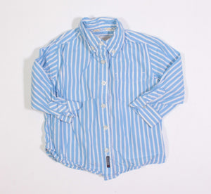 TCP BLUE STRIPED LS TOP 24M EUC