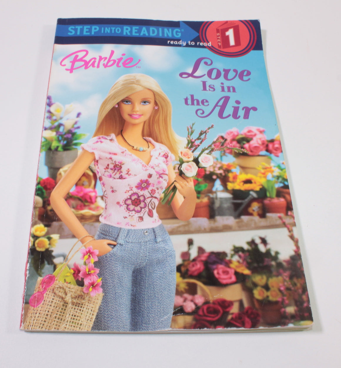 BARBIE LOVE IS IN THE AIR READER BOOK LEVEL 1 VGUC