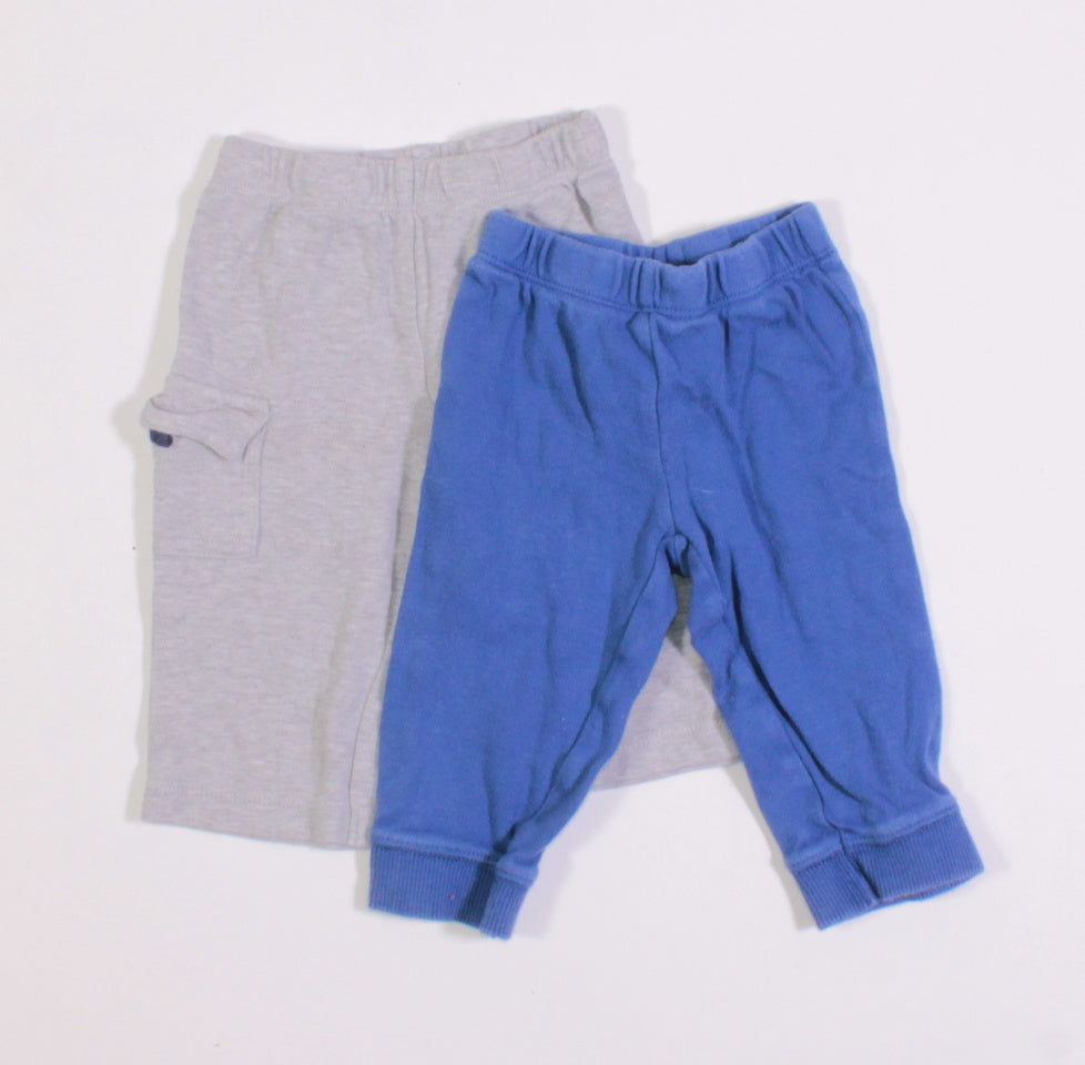 CARTERS COTTON BOTTOMS 6M VGUC