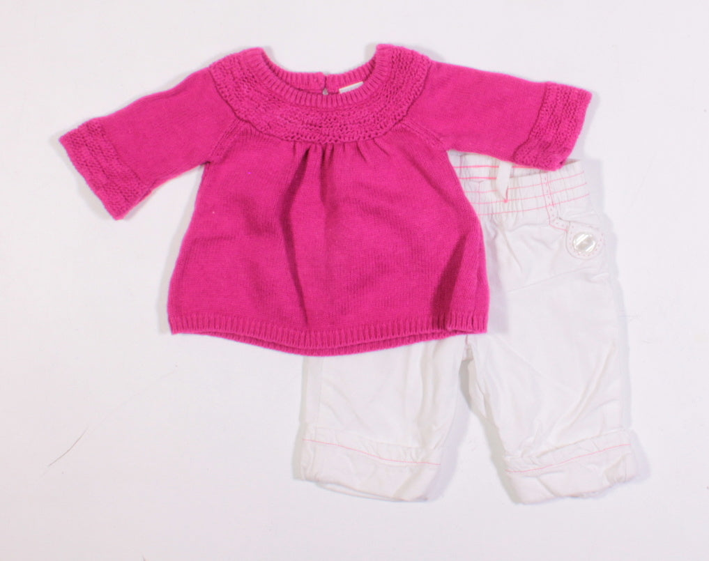 OLD NAVY OUTFIT 0-3M EUC