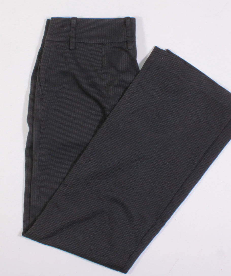DYNAMITE LADIES PINSTRIPE DRESS PANTS SIZE 1 EUC