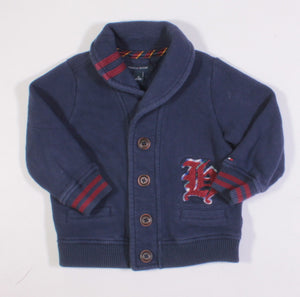 TOMMY HILFIGER BLUE SWEATER 2T EUC
