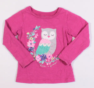 CARTERS OWL LS TOP 4Y VGUC