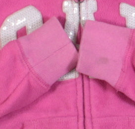 GAP PINK FLEECE SWEATER 4-5Y PC