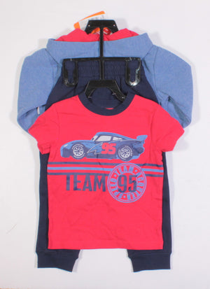 DISNEY 3 PIECE CARS OUTFIT 2Y NEW!