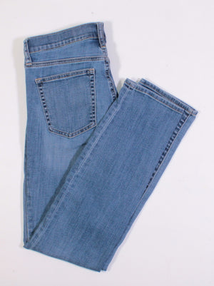 GAP RESOLUTION SLIM STRAIGHT JEANS LADIES SIZE 28 EUC