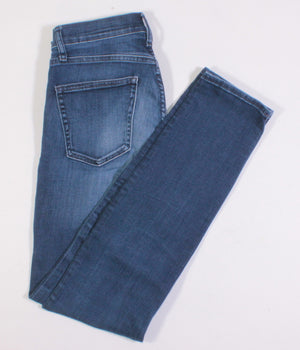 GAP DARK WASH SLIM STRAIGHT JEANS LADIES SIZE 28 EUC